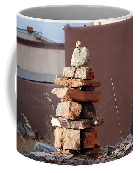 Pop Art Coffee Mug featuring the photograph Sante Fe Rocks by Rob Hans