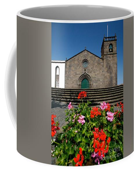 Azoren Coffee Mug featuring the photograph Sao Miguel Arcanjo Church by Gaspar Avila