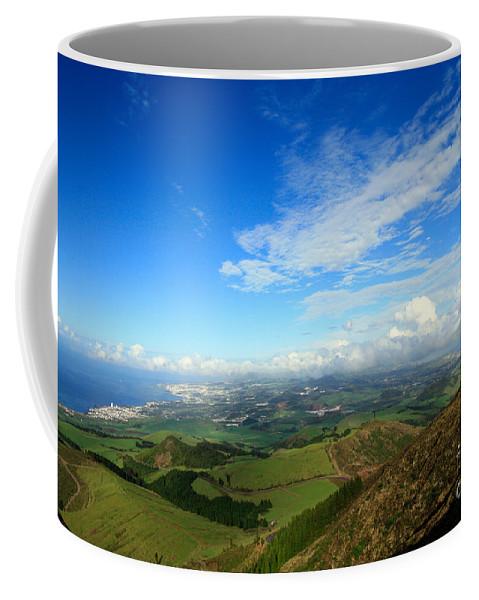 Azores Coffee Mug featuring the photograph Sao Miguel Island by Gaspar Avila