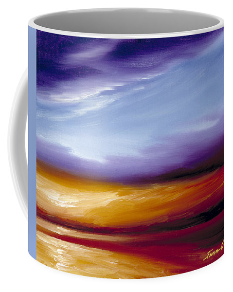 Skyscape Coffee Mug featuring the painting Sarasota Bay II by James Christopher Hill
