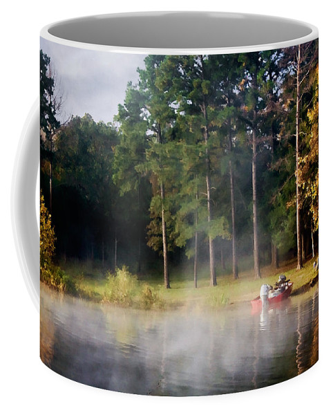 sardis Lake Coffee Mug featuring the photograph Sardis Cove by Lana Trussell