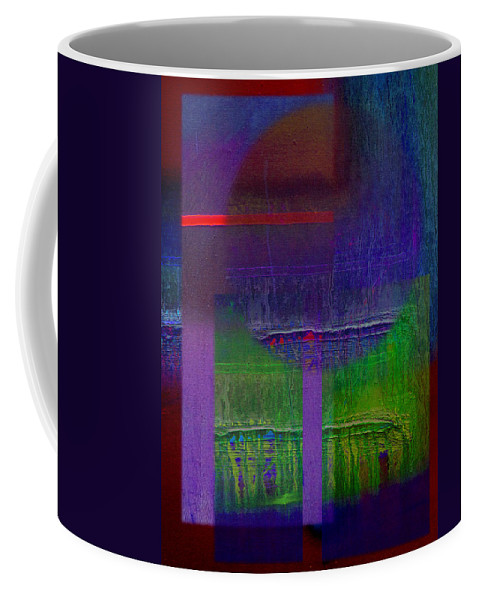 Landscape Coffee Mug featuring the painting Saturn by Charles Stuart