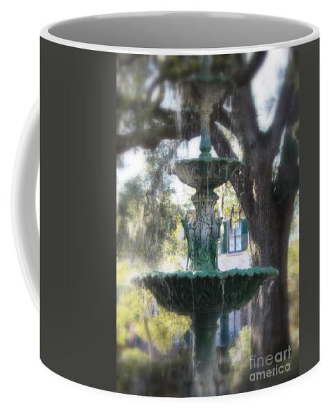 Savannah Coffee Mug featuring the photograph Savannah Green by Carol Groenen