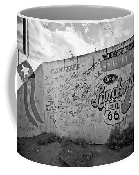 Route 66 Coffee Mug featuring the photograph Save A Landmark by Robert J Caputo