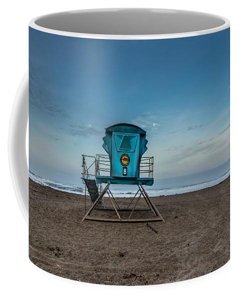 Califorina State Beach Coffee Mug featuring the photograph Save Me by Joe Azevedo
