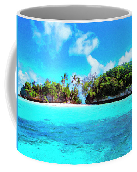 Saved Coffee Mug featuring the painting Saved by Dominic Piperata