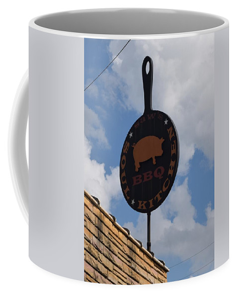 Saws Bbq And Soul Food Coffee Mug featuring the photograph Saws Bbq And Soul Food by Timothy Smith