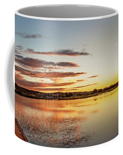 Reflections Coffee Mug featuring the photograph Sawyer Pond by Robert Bales