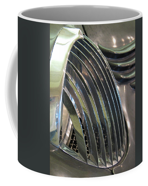 Stout Coffee Mug featuring the photograph Scarab Eye by Kelly Mezzapelle
