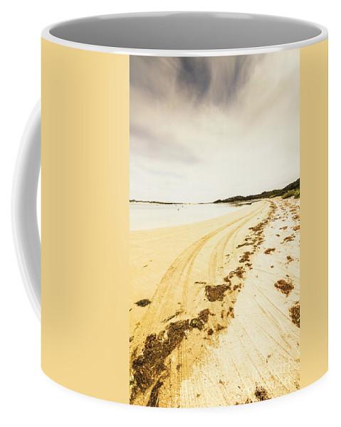 Coast Coffee Mug featuring the photograph Scenic Coastal Calm by Jorgo Photography - Wall Art Gallery