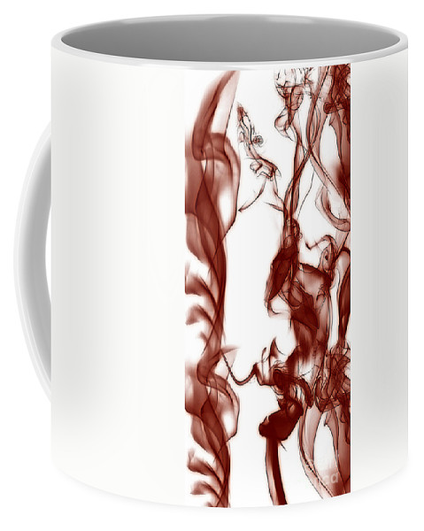Clay Coffee Mug featuring the digital art Schizophrenia by Clayton Bruster