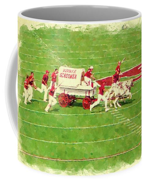 Oklahoma Coffee Mug featuring the photograph Schooner Celebration by Ricky Barnard