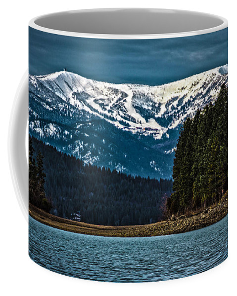 Schweitzer Mountain Coffee Mug featuring the photograph Schweitzer Mountain Resort by Josh Smith Photography