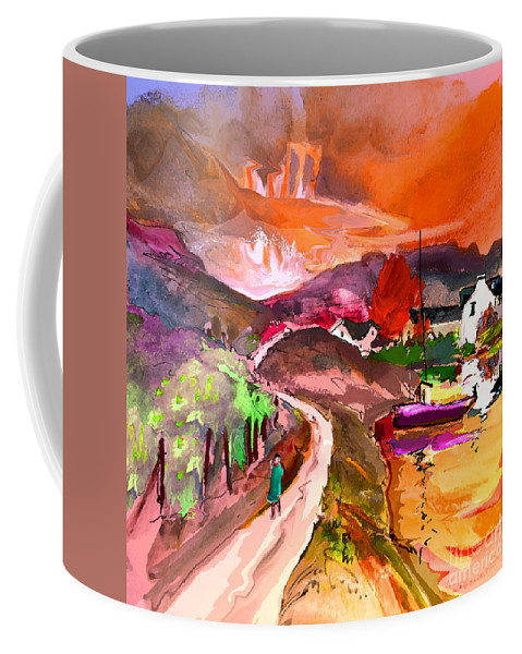 Scotland Paintings Coffee Mug featuring the painting Scotland 02 by Miki De Goodaboom