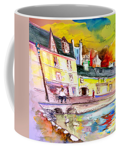Scotland Paintings Coffee Mug featuring the painting Scotland 04 by Miki De Goodaboom