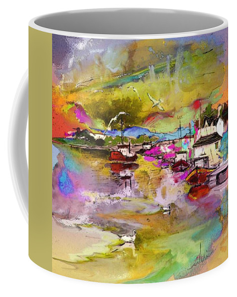 Scotland Paintings Coffee Mug featuring the painting Scotland 13 by Miki De Goodaboom
