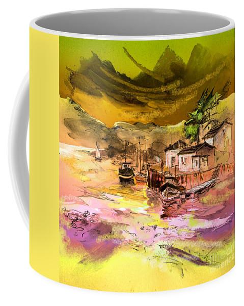 Scotland Paintings Coffee Mug featuring the painting Scotland 14 by Miki De Goodaboom
