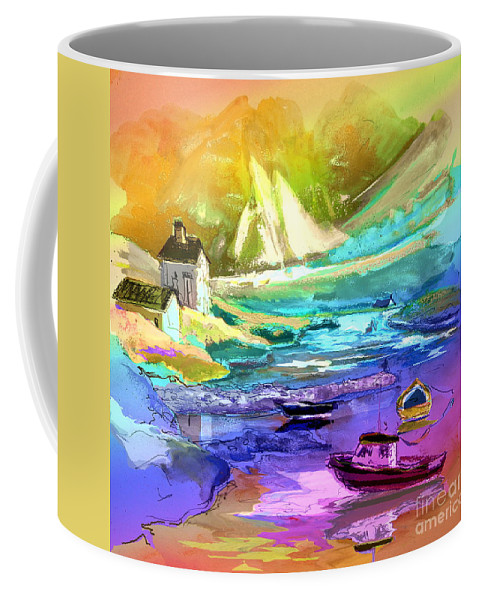 Scotland Paintings Coffee Mug featuring the painting Scotland 15 by Miki De Goodaboom