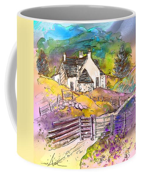 Scotland Paintings Coffee Mug featuring the painting Scotland 16 by Miki De Goodaboom