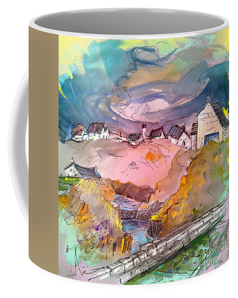 Scotland Paintings Coffee Mug featuring the painting Scotland 17 by Miki De Goodaboom