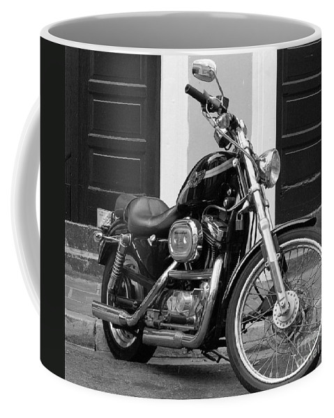 Motorcycle Coffee Mug featuring the photograph Screamin Eagle by Debbi Granruth