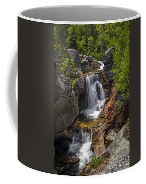 Screw Auger Falls Coffee Mug featuring the photograph Screw Auger Falls by Alana Ranney