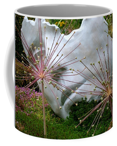 Sculpture Coffee Mug featuring the photograph Sculpture by Jeff Townsend