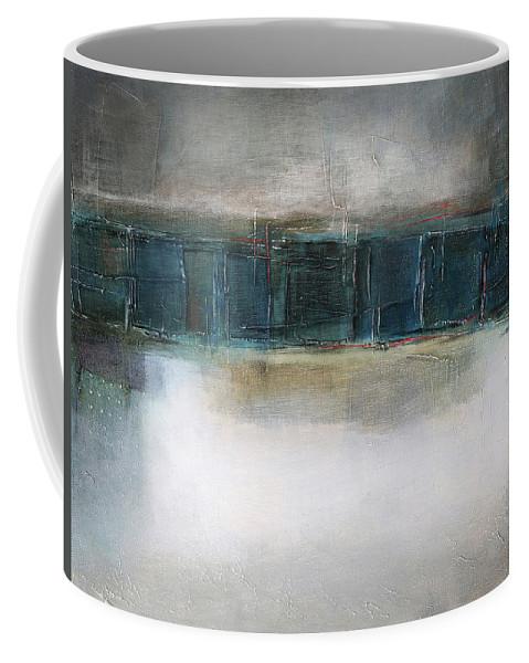 Sketching Coffee Mug featuring the painting Sea by Behzad Sohrabi