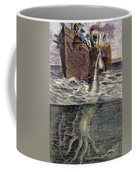 19th Century Coffee Mug featuring the photograph Sea Monster by Granger