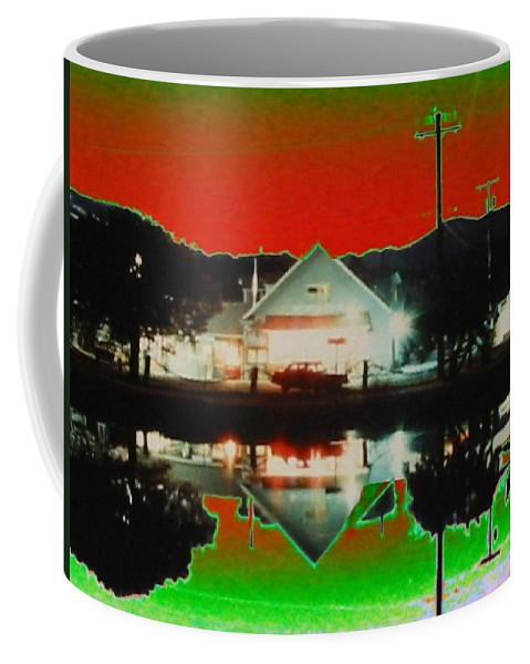 Seabeck Coffee Mug featuring the photograph Seabeck General Store by Tim Allen