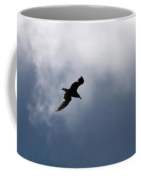 Lehtokukka Coffee Mug featuring the photograph Seagull's Sky 1 by Jouko Lehto