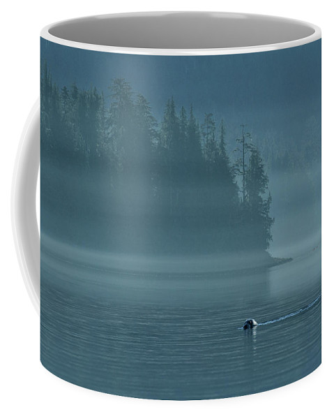 North America Coffee Mug featuring the photograph Seal by Christian Heeb
