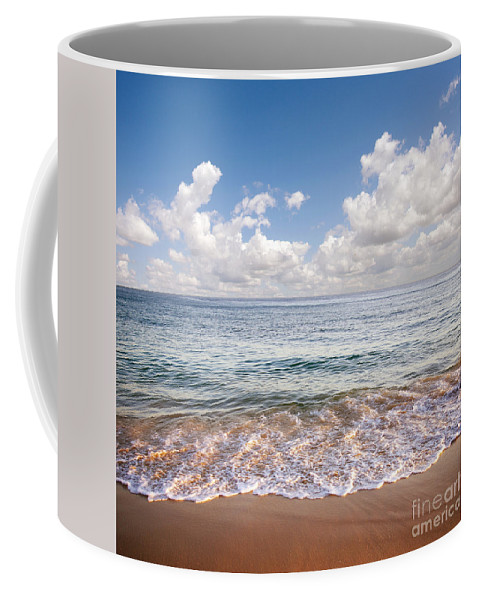 Background Coffee Mug featuring the photograph Seascape by Carlos Caetano