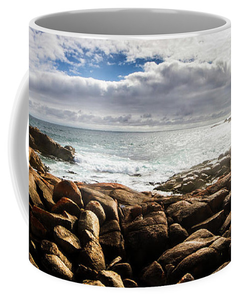 Water Coffee Mug featuring the photograph Seascape In Harmony by Jorgo Photography - Wall Art Gallery
