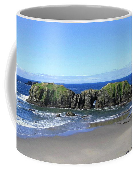 #seascape Coffee Mug featuring the photograph Seascape Supreme by Will Borden