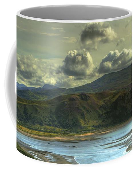 Beach Coffee Mug featuring the photograph Seascape by Svetlana Sewell