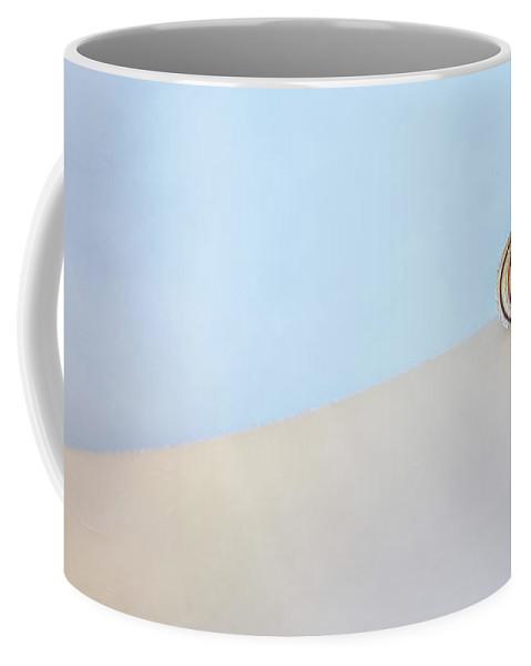 Seashell Coffee Mug featuring the photograph Seashell by the Seashore by Scott Norris