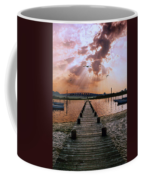 Seascape Coffee Mug featuring the photograph Seaside by Steve Karol