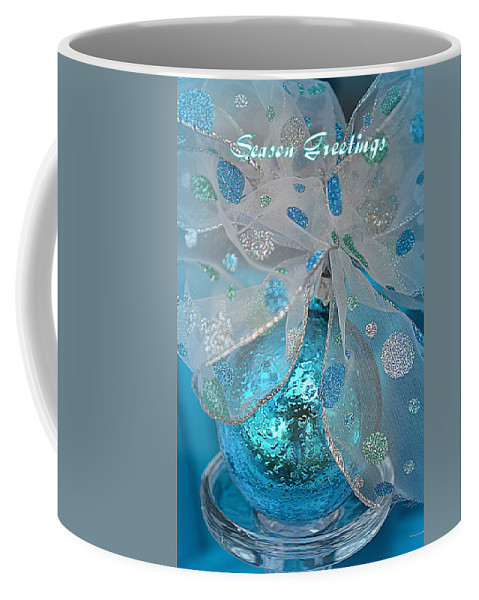 Season Greetings Coffee Mug featuring the photograph Season Greetings 1 by Linda Covino