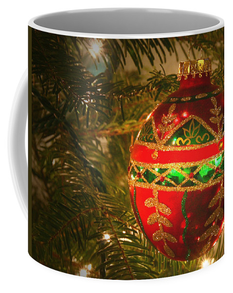 Christmas Coffee Mug featuring the photograph Seasons Greetings by Winston Rockwell