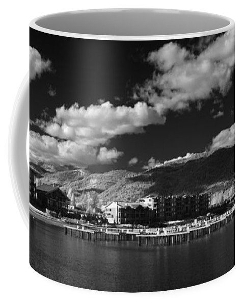 B&w Coffee Mug featuring the photograph Seasons In Infrared by Lee Santa
