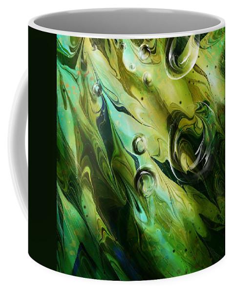 Seaweed Coffee Mug featuring the digital art Seaweed by Rachel Christine Nowicki