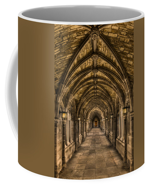 Arch Coffee Mug featuring the photograph Seclusion by Evelina Kremsdorf