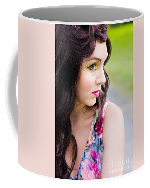 Bright Coffee Mug featuring the photograph Second Glances by Jorgo Photography - Wall Art Gallery