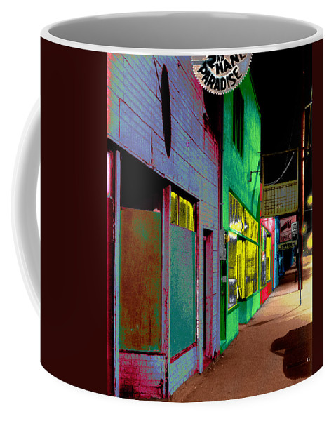 Architecture Coffee Mug featuring the photograph Second Hand Paradise by Kelley King