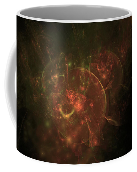 Art Coffee Mug featuring the digital art Secrets Of Kevington by Jeff Iverson