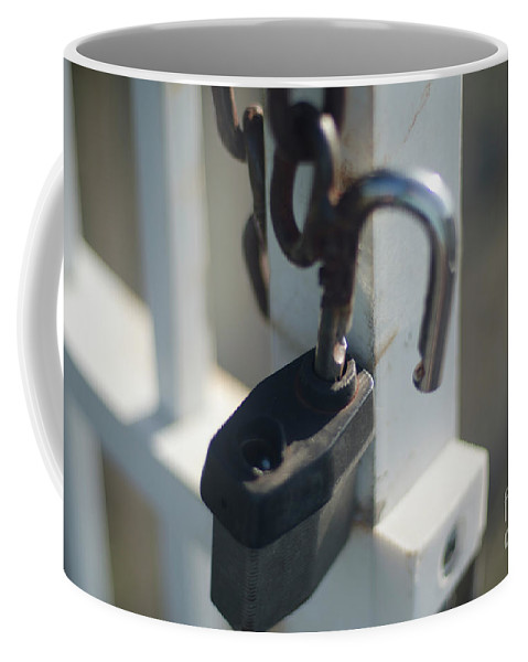 Security Coffee Mug featuring the photograph Security by Dale Powell