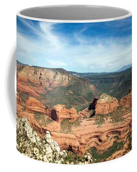 Sedona Coffee Mug featuring the photograph Sedona, Arizona by American School