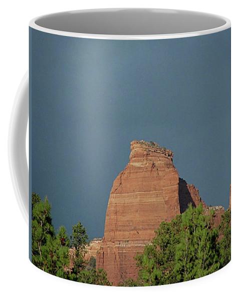 Arizona Coffee Mug featuring the photograph Sedona Vallry by Anthony W Weir