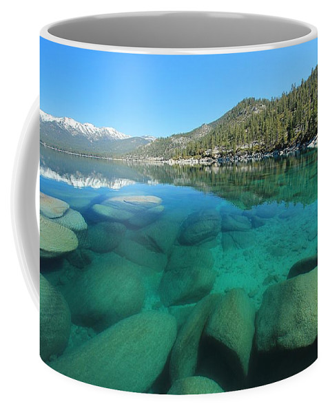 Lake Tahoe Coffee Mug featuring the photograph Seduction by Sean Sarsfield